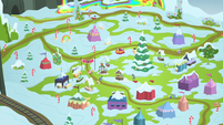 Rainbow Falls covered in snow MLPBGE