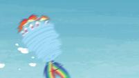 Rainbow gets spinned around S4E26