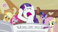 Rarity 'How did they get my private diary-' S2E23