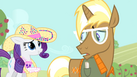 Rarity 'what the fuss is all about' S4E13