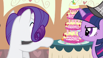 Rarity took bite S2E24
