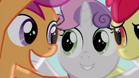 Scootaloo grinning S4E15