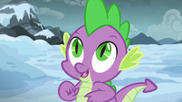 Spike pleased to be in charge S6E16