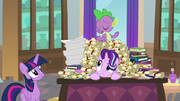 Spike refusing to be put in charge S8E15