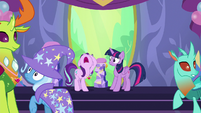 "Starlight crying out ""I'm not ready to leave!"" S7E1"