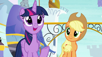 "Twilight ""happy to find a new drill sergeant"" S8E21"
