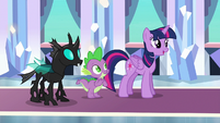 Twilight --if Spike says Thorax is his friend-- S6E16