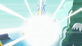 A shining bright light appears out from the castle S5E26.png