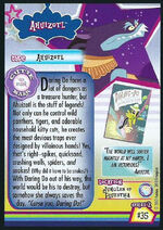 Ahuizotl Enterplay series 2 trading card back