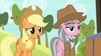 "Applejack ""wanderin' into the wrong cave"" S7E5"