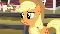 Applejack still considerably nervous S6E10