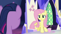 Fluttershy --accusing him of being downright evil!-- S5E22