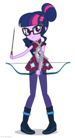 Friendship Games Sci-Twi Sporty Style artwork