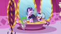 Gems being levitated to Starlight's dress S5E26.png