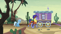Hoo'Far about to leave S8E19