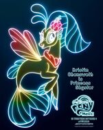 "MLP The Movie Princess Skystar ""7weeks"" poster"