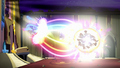 Mane Six fire beams of rainbow light S5E13.png