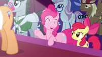 Pinkie Pie -after everything that's happened- S7E9