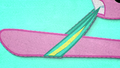 Pinkie Pie puts on a wristband BFHHS2.png