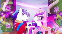 Princess Cadance & Shining Armor not expecting S2E26