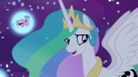 "Princess Celestia ""shouldn't be too hard"" S7E10"