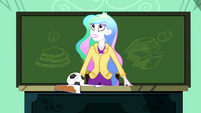 Principal Celestia hears the school bell SS8