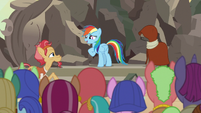 Rainbow Dash -I had no idea how special- S7E18