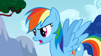 Rainbow Dash demands a better cheer S01E16