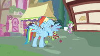 Rainbow Dash just never mind S3E11