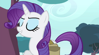 Rarity -benefited from my creative vision- S4E23