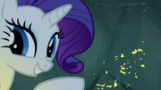 Rarity reveals flecks of gold in the walls S7E16