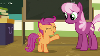 "Scootaloo ""pony science and medicine"" S9E12"
