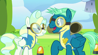 """Sky Stinger """"even though you can out-fly me"""" S6E24"""