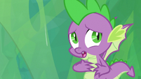 "Spike ""too sticky"" S9E25"