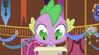 Spike checking the list S1E01