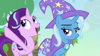 "Starlight Glimmer ""waaaaaaay over there"" S7E17"
