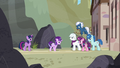 Starlight walks up to the Our Town ponies S5E26.png