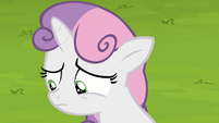 Sweetie Belle looking discouraged S7E6