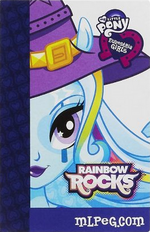 Trixie Equestria Girls Rainbow Rocks Backstage Pass