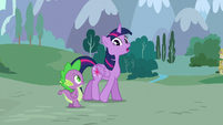 Twilight --they were three very productive days!-- S5E22