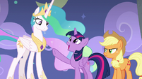 "Twilight Sparkle ""on to the dance number!"" S8E7"