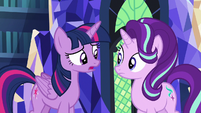 Twilight Sparkle --get to know Pinkie Pie better-- S6E21