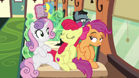"Apple Bloom ""we're grown-up ponies now!"" S9E22"