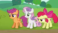 Apple Bloom --I don't think they're really helping anymore-- S6E14
