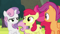 Apple Bloom agreeing with Terramar S8E6