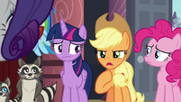 Applejack -worse than the worst Manehattanite- S8E4