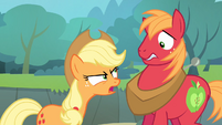 Applejack angry at Big McIntosh S4E09