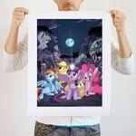 Dark Night art print WeLoveFine