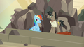 Dr. Caballeron whistles to his henchponies S7E18.png