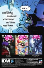 FIENDship is Magic issue 1 credits page